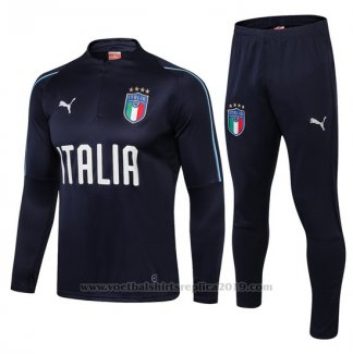 Trainingspak Italie 2018 Blauw