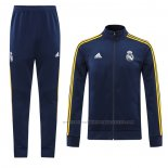 Trainingspak Presentatiejack Real Madrid 2020-2021 Blauw Marino