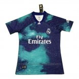 Thailand Voetbalshirts Real Madrid EA Sports 2018-2019 Blauw