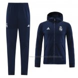 Trainingspak Hoody Real Madrid 2020-2021 Blauw