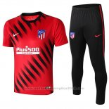 Trainingspak Atletico Madrid Korte Mouw 2019-2020 Rood
