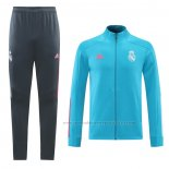 Trainingspak Presentatiejack Real Madrid 2020-2021 Blauw Claro