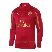 Sweater Arsenal 2018-2019 Rood Y Goud