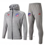 Trainingspak Hoody Atletico Madrid 2019-2020 Grijs