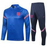 Trainingspak Sweater Engeland 2020-2021 Blauw