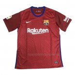 Thailand Voetbalshirts FC Barcelona Keeper 2020-2021 Rood